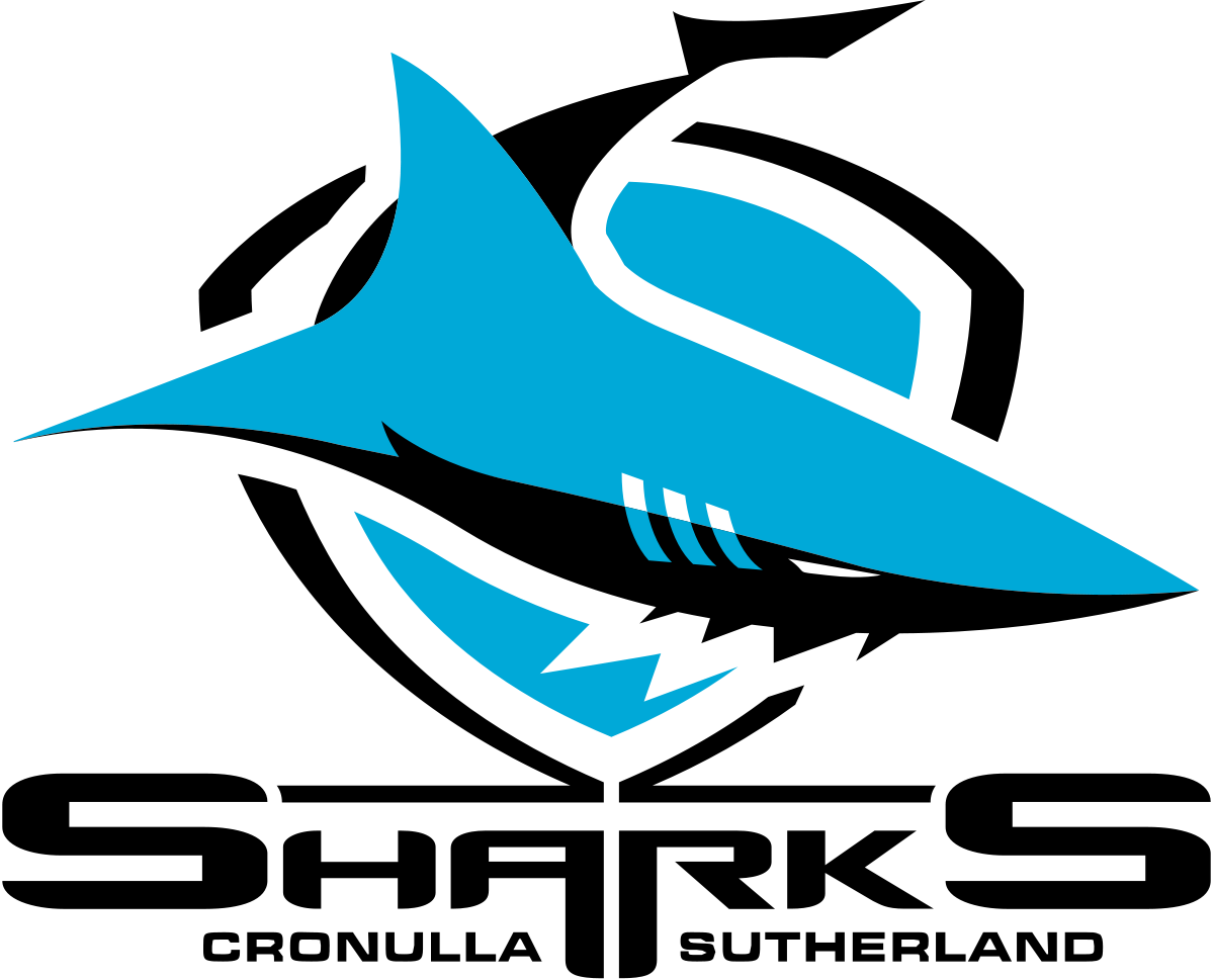 Cronulla Sharks Rugby League Football Club Logo
