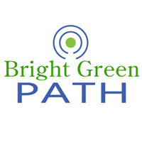 Bright Green Path Web Solutions Logo